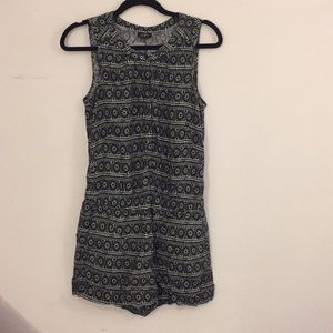 *BOGO 50%*Loft black/white pattern rompers